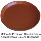 molde de pizza